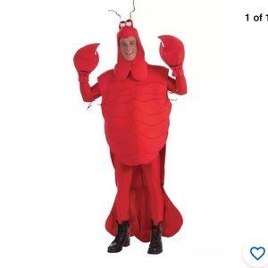 Adult Crawdad Crab Halloween Costume